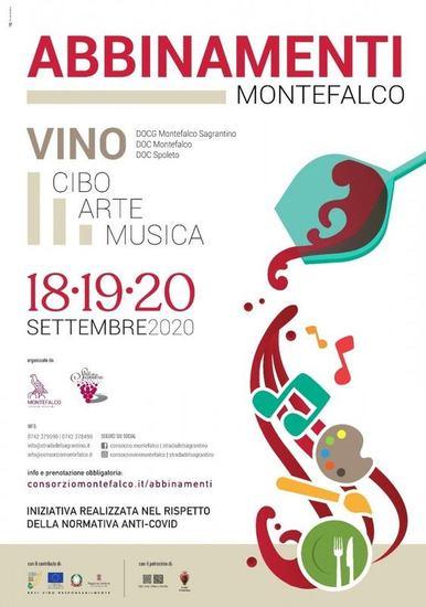 Abbinamenti - i grandi vini di Montefalco e Spoleto tra gastronomia, arte e musica