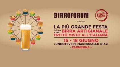BIRRÒFORUM 2017 - Il Festival della Birra Artigianale e del Cibo da Strada