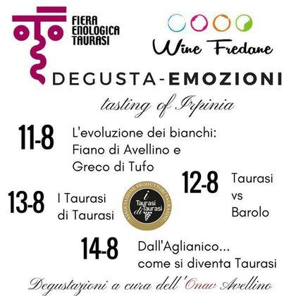 Degusta-Emozioni alla Fiera Enologica di Taurasi