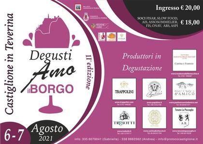 Degustiamo il Borgo - Castiglione in Teverina