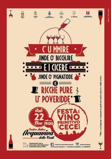 XIV Festa del Vino Primitivo e del Cece Nero
