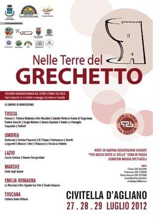 Feste del Vino della Tuscia 2012, si inizia da Civitella d'Agliano e Gradoli