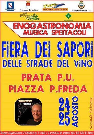 Fiera Dei Sapori delle strade del vino a Prata di Principato Ultra