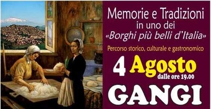 Memorie e Tradizioni, percorso storico, culturale e gastronomico a Gangi, Palermo