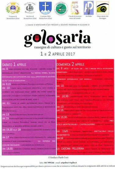 Golosaria a Montechiaro d'Asti