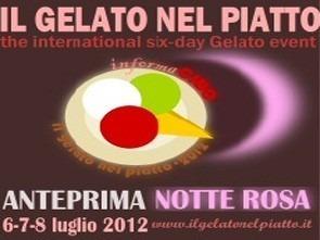 Notte Rosa 2012: Anteprima Rosa de Il Gelato nel Piatto