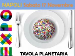 Napoli, Tavola Planetaria, degustazione specialità tipiche
