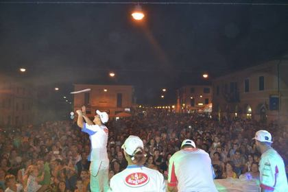 Pizza in Piazza 2016 a San Lorenzo in Campo