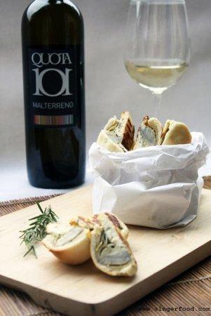Quota 101 a Vinitaly 2013: l'aperitivo Street Food diventa un ricettario