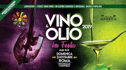 Vino e Olio in Festa 2019 al Mercato Contadino Capannelle