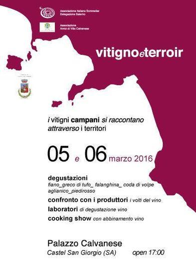Vitigno&Terroir 2016 a Castel San Giorgio