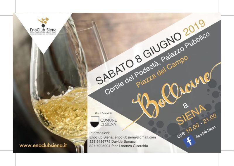 Bollicine a Siena