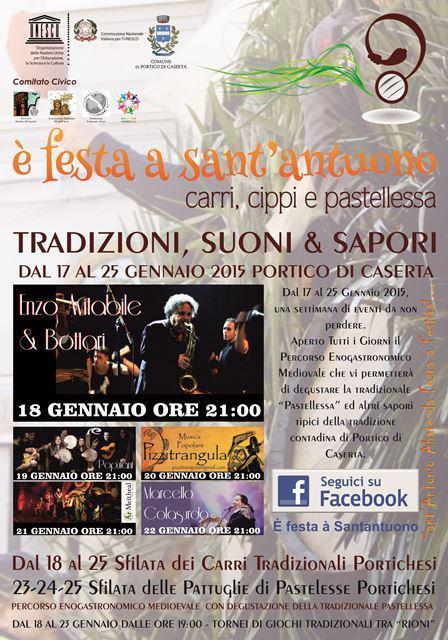 Festa a Sant'Antuono a Portico di Caserta
