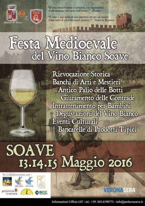 Festa Medioevale del Vino Bianco Soave 2016