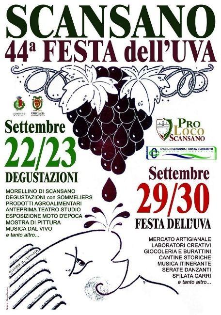 Festa dell'Uva 2012 a Scansano, 44esima edizione
