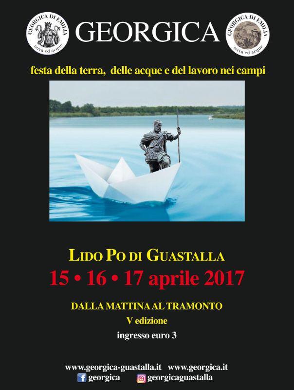 Georgica di Emilia 2017 - Festa della terra, delle acque e del lavoro nei campi