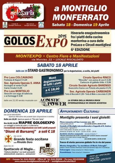 Golosexpo 2015: quelli del Golosaria a Montiglio Monferrato