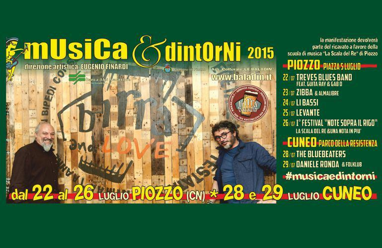 Festival Baladin 2015: Musica & Dintorni