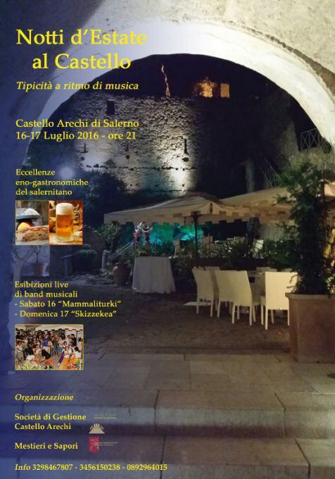 Notti d'Estate al Castello Arechi di Salerno