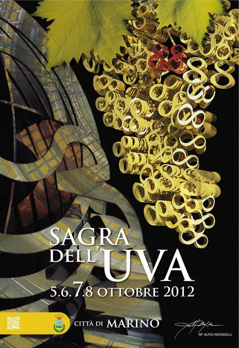 Sagra dell'Uva 2012 a Marino, Roma