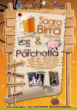 Sagra della Birra Artigianale e della Porchetta a Casamassima, Bari