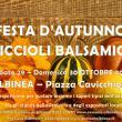 Festa d'Autunno Ciccioli Balsamici  2016
