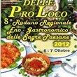 Festival delle Pro Loco 2012, raduno enogastronomico regionale in Sardegna