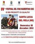 Festival del Mamertino Doc 2011 a Santa Lucia del Mela